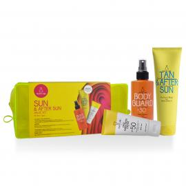 Youth Lab Sun & After Sun Value Set Body Guard Sunscreen Spray SPF30 200ml + Daily Sunscreen Cream For All Skin Types SPF50 50ml + Δώρο Tan After Sun Soothing & Tan Prolonging 150ml