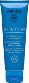 APIVITA AFTER SUN T FACE & BODY GEL CREAM 100ML