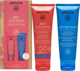 Apivita Promo Bee Sun Safe Hydra Fresh Face Body SPF50 100ml & After Sun Cool Sooth 100ml